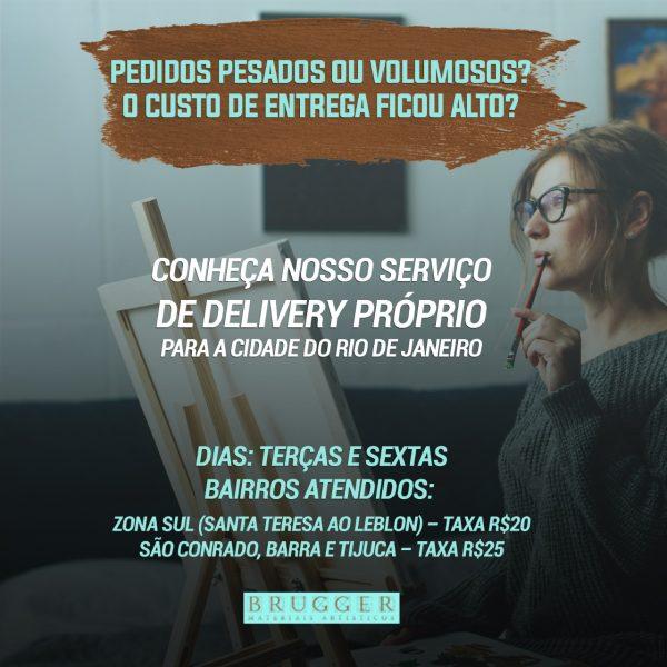 Delivery para o Rio de Janeiro